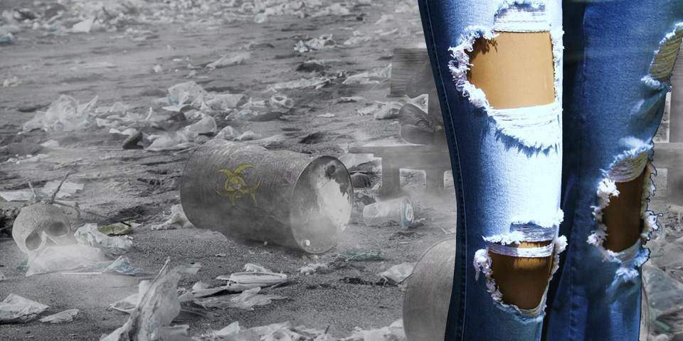 Behind jean manufacturing, there are oil extraction, water pollution and a lot of greenhouse gas emissions. Do not buy brand-new jeans: protecting the environment is actually much more fashionable!