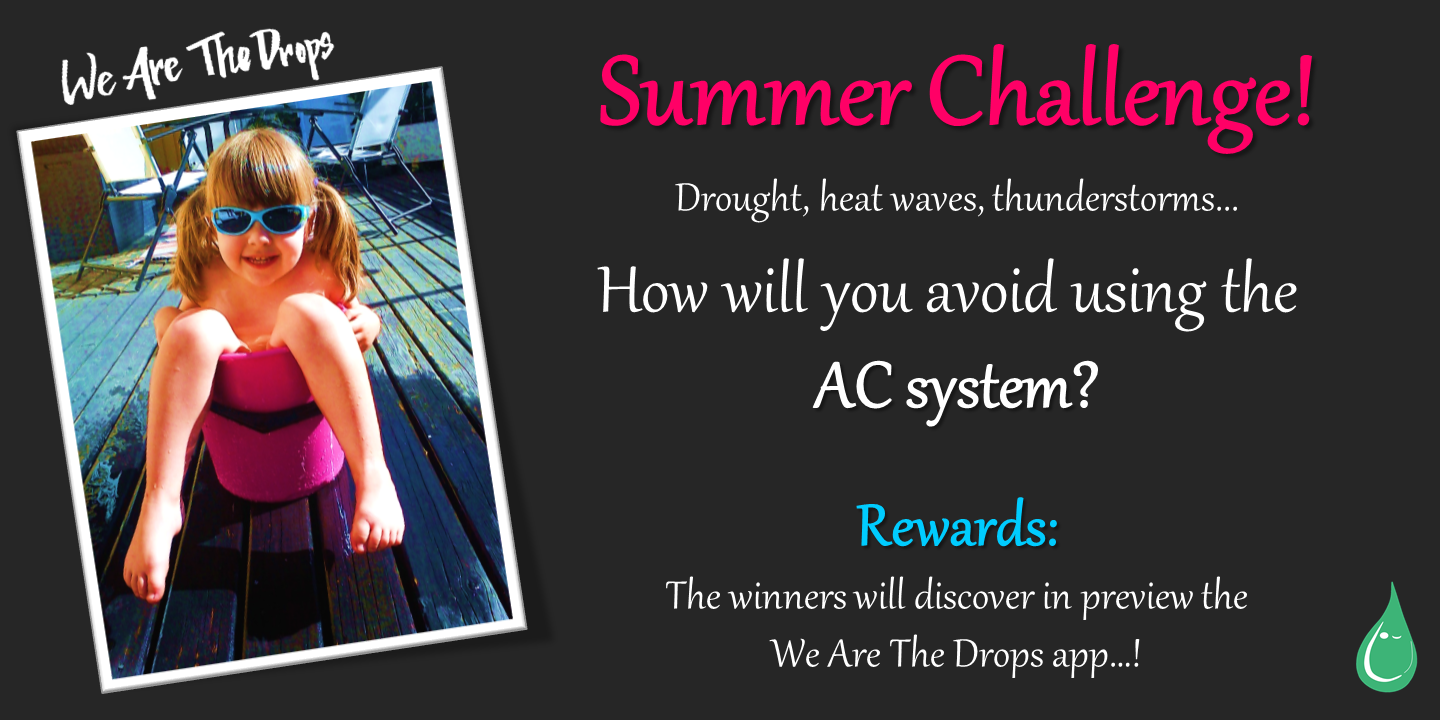 Summer Challenge 2019: Share your tricks to stay cool