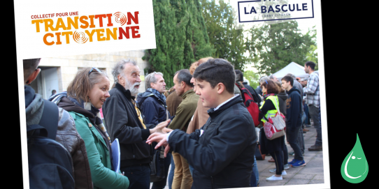 Participation à la rencontre pour la transition citoyenne en Dordogne Périgord - organisée par le lobby citoyen La Bascule